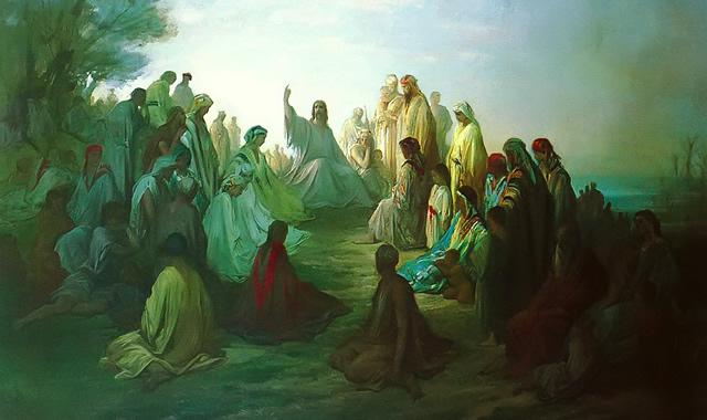 Gustav Dore - Sermon on the Mount