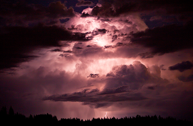 Cloud LIghtning - Blaine Franger