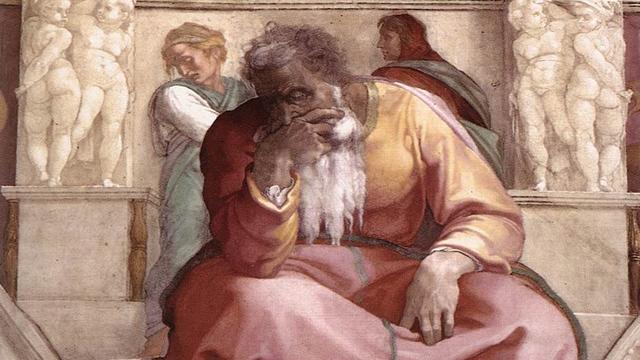 Prophet Jeremiah - Michelangelo