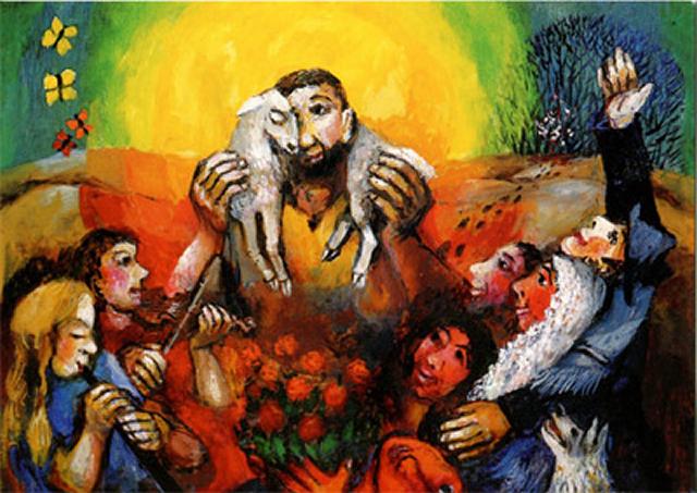 The Good Shepherd (Guter Hirte)  - Sieger Köder